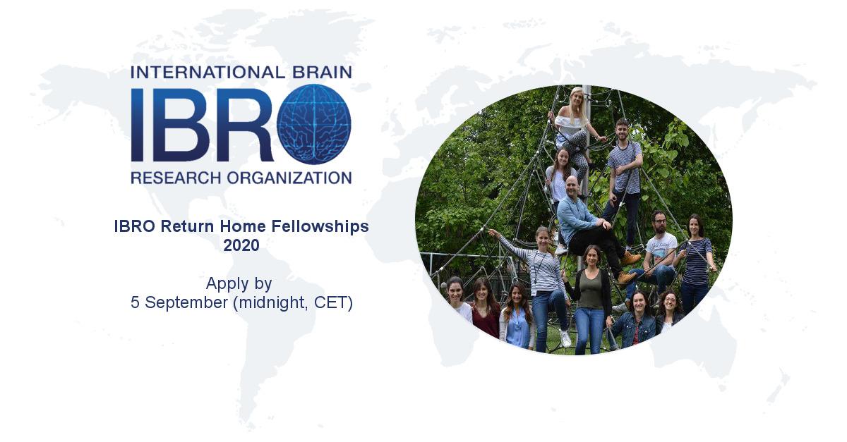IBRO Return Home Fellowships 2020 - IBRO